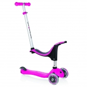 Globber EVO 4 in 1 Kids Scooter Pink
