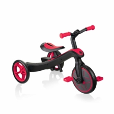 Globber Explorer Trike 2 in 1 Red