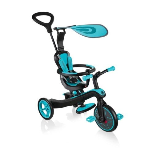 Globber Explorer Trike 4 in 1 Teal