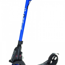 Globber My Too One K180 Folding Adult Scooter with Handbrake Blue