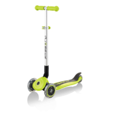 Globber Primo Foldable 3 Wheel Scooter Lime Green