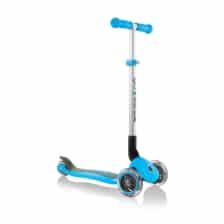 Globber Primo Foldable 3 Wheel Scooter Sky Blue