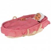 Goki Dolls Carry Cradle with Bedding