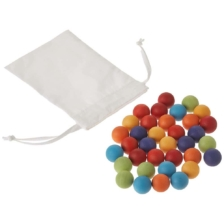 Grimm's 35 Marbles in Cloth Bag