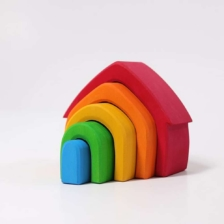 Grimm's Colourful Stacking House
