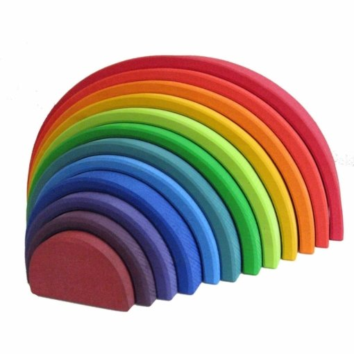 Grimm's Rainbow Large Stacker Tunnel
