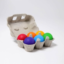 Grimm's Six Rainbow Colour Balls