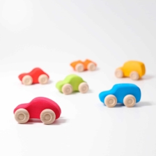 Grimm's Small Cars Coloured Set of Six