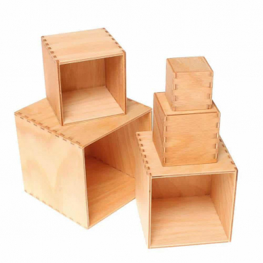 Grimm's Small Natural Stacking Boxes