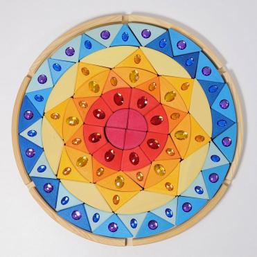 Grimm's Sparkling Mandala Sun Puzzle