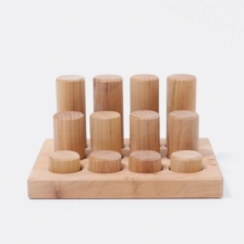 Grimm's Stacking Game Small Natural Rollers