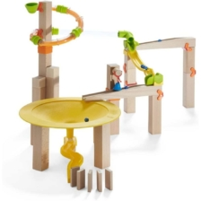Haba Ball Track Funnel Jungle Set