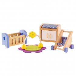 Hape All Seasons Dollhouse Baby Room
