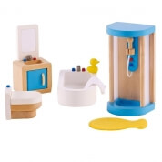 Hape All Seasons Dollhouse Modern Bathroom
