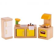 Hape All Seasons Dollhouse Modern Kitchen