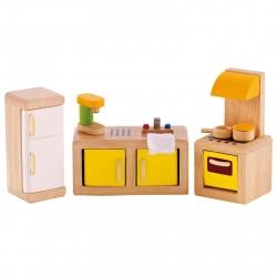 Hape All Seasons Dollhouse Modern Kitchen
