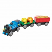 Hape Battery Powered Rolling Stock 3 Piece Train
