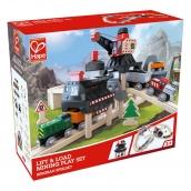 Hape Lift and Load Mining Play Set - Train Set