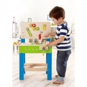 Hape My Giant Wooden Work Bench with Tools and Accessories