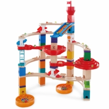 Hape Quadrilla Super Spiral Marble Run Set