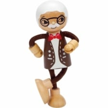 Hape Wooden Doll Grandfather