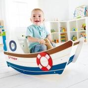 Hape Wooden Rocking Boat