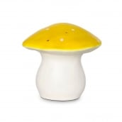 Heico Nightlight Lamp Medium Mushroom Toadstool Yellow