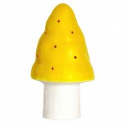 Heico Nightlight Lamp Small Mushroom Yellow