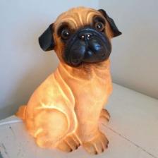 Heico Pug Dog Night Light Lamp