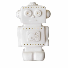 Heico Robot Night Light Lamp White