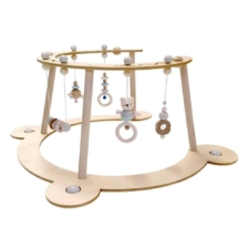 Hess-Spielzeug Baby Play Gym and Walker Natural