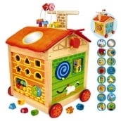 I'm Toy Farm House Walk and Learn Baby Walker