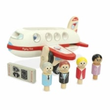 Indigo Jamm Flying Felix Plane