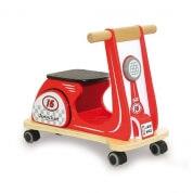 Indigo Jamm Scoot Racing Red Ride On