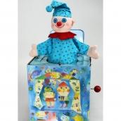 Jack in the Box Blue Clown