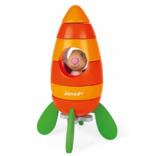 Janod Magnetic Rabbit and Carrot Rocket