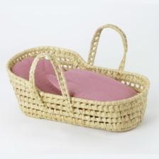Kikadu Palm Leaves Doll Carry Basket