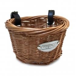 Kinderfeets Balance Bike Wicker Basket with Straps