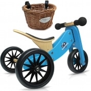 Kinderfeets Tiny Tot 2 in 1 Blue with Basket