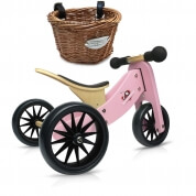Kinderfeets Tiny Tot 2 in 1 Pink with Basket