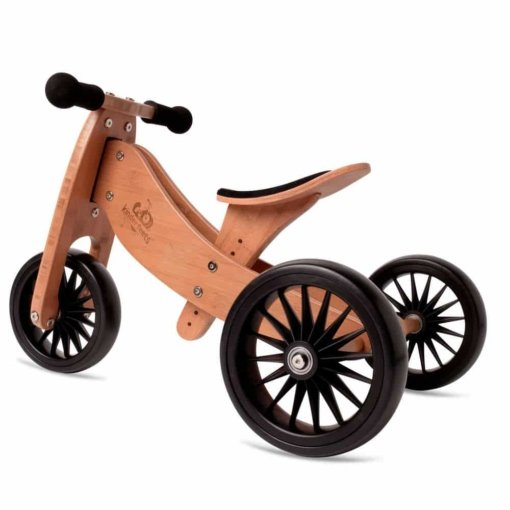 Kinderfeets Tiny Tot PLUS 2 in 1 Trike Bamboo