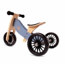 Kinderfeets Tiny Tot PLUS 2 in 1 Trike Slate Blue