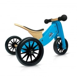 Kinderfeets Tiny Tot Trike 2 in 1 Blue Balance Bike