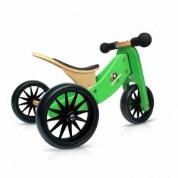 Kinderfeets Tiny Tot Trike 2 in 1 Green Balance Bike