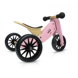 Kinderfeets Tiny Tot Trike 2 in 1 Pink Balance Bike