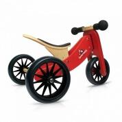 Kinderfeets Tiny Tot Trike 2 in 1 Red Balance Bike