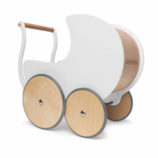 Kinderfeets Walker Pram White