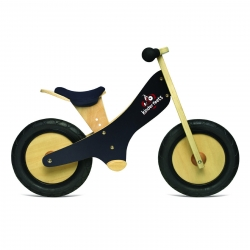 Kinderfeets Wooden Balance Bike Black