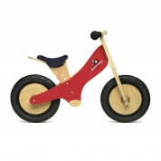 Kinderfeets Wooden Balance Bike Red
