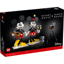 LEGO 43179 Disney Micky Mouse and Minnie Mouse Buildable Characters
